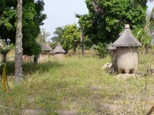 Kornspeicher am Dorfrand